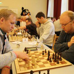 Karl-Jasmin Muranyi und Torsten Lang bei der dt. Blitzmeisterschaft in Bamberg