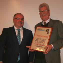 Gerd Schowalter ist Ehrenmitglied des Schachbundes Rheinland-Pfalz