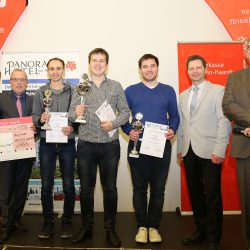 GM Vitaliy Bernatskiy im Endspurt Sieger des Pfalz Open 2019