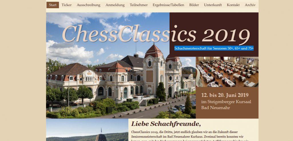 Einladung Chess Classics 2019 12.6.-20.6.19