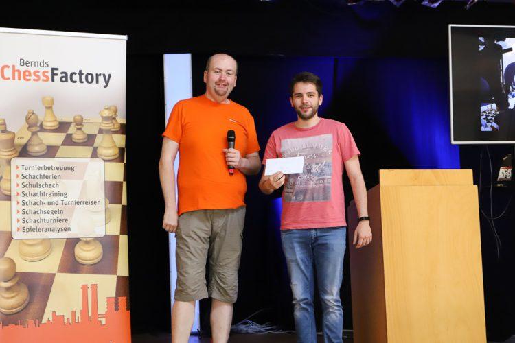 FM Nikolas Pogan gewinnt souverän das 2. Ludwigshafener Himmelfahrtsopen