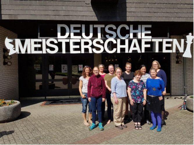Deutsche Frauen-Mannschaftsmeisterschaft der Landesverbände (Braunfels; 20.–23.06.2019)